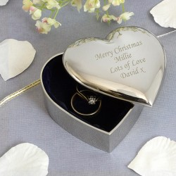 Memorial Heart Trinket Box