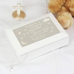 Personalised Twinkle Twinkle Jewellery Box