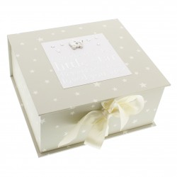Bambino Twinkle Little Star Keepsake Box