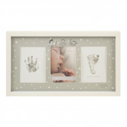 Bambino Keepsake Photo Frame, Footprint & Handprint Display