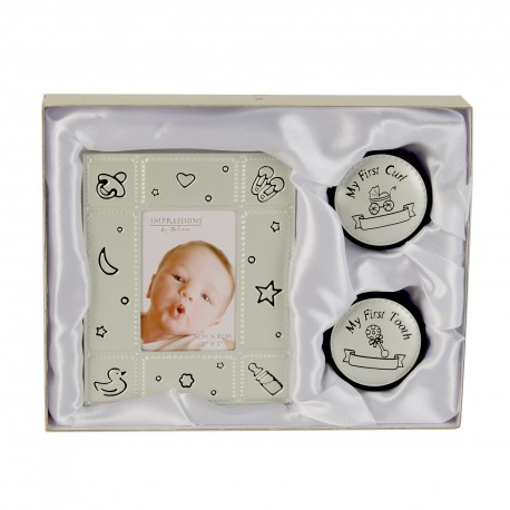 Photo Frame & First Tooth & Curl Set