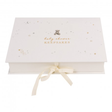Bambino Little Star Baby Shower Keepsake Box