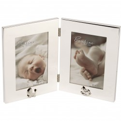 "Bambino Keepsake Double Photo Frame - 4"" X 6"""