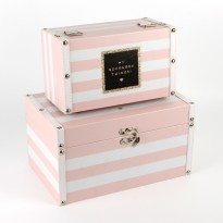 By Appointment Set Of 2 Storage Boxes - My Gorgeous/Fabulous