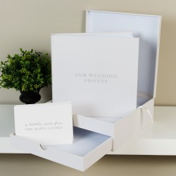 Amore Large Album & Message Keepsake Box