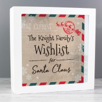 Personalised Wishes, Lists and Letters for Santa Keepsake Box