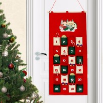 Personalised Elf Felt Advent Calendar