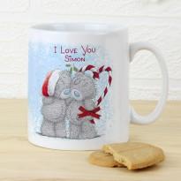 Personalised Me To You Couple Christmas Mug