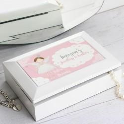 Personalised Fairy Princess Jewellery Box