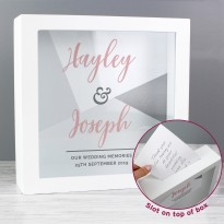 Personalised Wedding & Occasion Fund and Keepsake Box