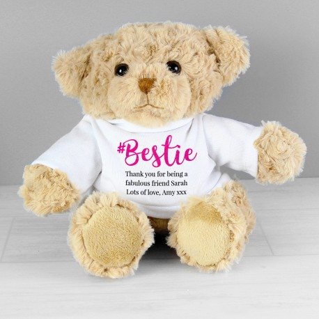 Personalised Bestie Teddy