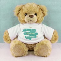 Personalised Shining Star T-Shirt Message Bear
