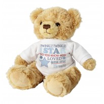 Personalised Twinkle Boys Teddy