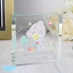 Personalised Tiny Tatty Teddy Cuddle Bug Large Crystal Token