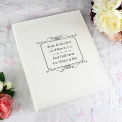 Personalised Silver Album With Sleeves