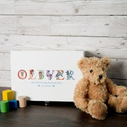 Christening Keepsake Box for Boy