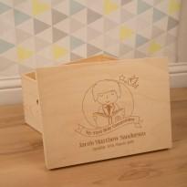 Personalised Boy's Laser Engraved 1st Communion Keepsake Box