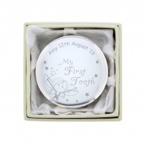 Personalised Fairy My First Tooth Trinket Box