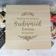 Wooden Memory Boxes