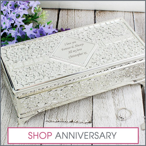 anniversary memory boxes